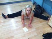 Lacey Schwimmer - Hot Pics From Dancing With The Stars Practice