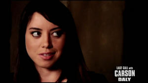 AUBREY PLAZA - &amp;quot;Last Call with Carson Daly&amp;quot; - (July 3, 2010)