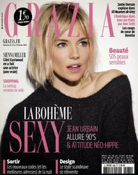 Sienna Miller - Grazia Magazine French - February 2015 -x4