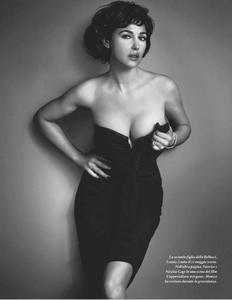 Monica Bellucci sexy Io Donna Italy