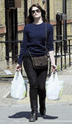 Gemma Arterton out shopping at Waitrose, West London 13-06-2011