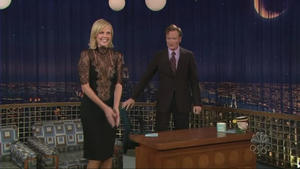 Charlize Theron - Late Night with Conan O'Brien (2005)