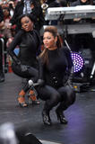 Singer Beyonce Knowles show off her curvy body wearing body-hugging black suit as she performs on NBC's Today at Rockefeller Center on November 26, 2008 in New York City - Hot Celebs Home