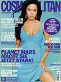 Angelina Jolie shows great cleavage on cover of German issue of Cosmopolitan Magazine - Hot Celebs Home