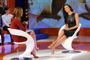Меган Гэйл, фото 251. Megan Gale on Italian tv show 'Verissimo' - 04/11/11, foto 251