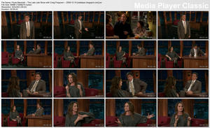 Paula Marshall -- LEGS/BOOTS -- The Late Late Show with Craig Ferguson -- 2009-12-10 -- MF/MU
