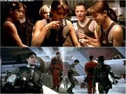 Tribute to Battlestar Galactica - Pilot (Mini-series) - Grace Park, Katee Sackhoff, Tricia Helfer, Kandyse McClure - Colla