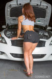 Stephy Parker - Stephys Working On The Car -n4foaaetue.jpg