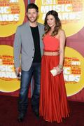 Danneel Harris with husband Jensen Ackles @ 2011 CMT Music Awards  in Nashville on June 8th, 2011 X 2MQ's