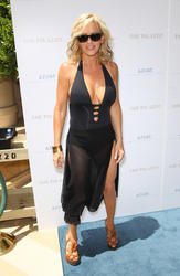 Jenny McCarthy - pool party at Azure Luxury Pool in Las Vegas (7/11/14)