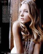 Elsa Hosk - Marie Claire UK - Jan 2011 (x6)