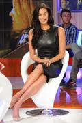 Меган Гэйл, фото 250. Megan Gale on Italian tv show 'Verissimo' - 04/11/11, foto 250