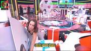 Daniela Melchior sensual no programa Apanha se puderes